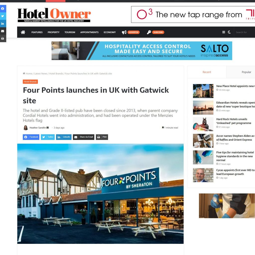 Four-Points-launches-in-UK-with-Gatwick-site-Article-Hotel-Owner