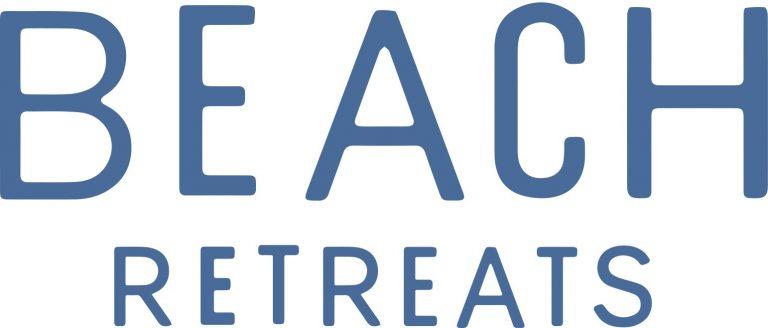 beach retreats logo blue